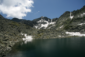 Musala - the highest peak in Bulgaria